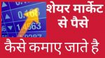 How to earn money from share market , live example । share market se paise kamana shikhe ,